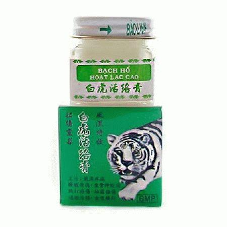 Мазь Bach Ho (Белый Тигр) 20 грамм (НЕ КИТАЙ)