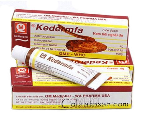 Kedermfa — сильнейшая противогрибковая мазь