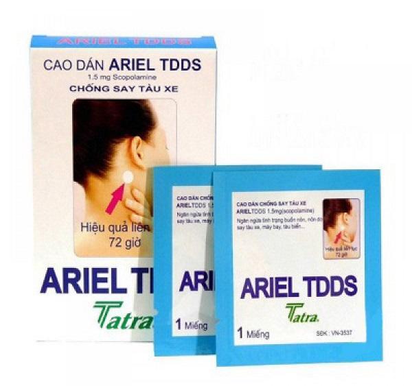 Пластырь Ariel TDDS — надежная защита от укачивания