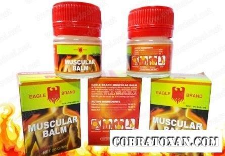 muscular бальзам для разогрева мышц
