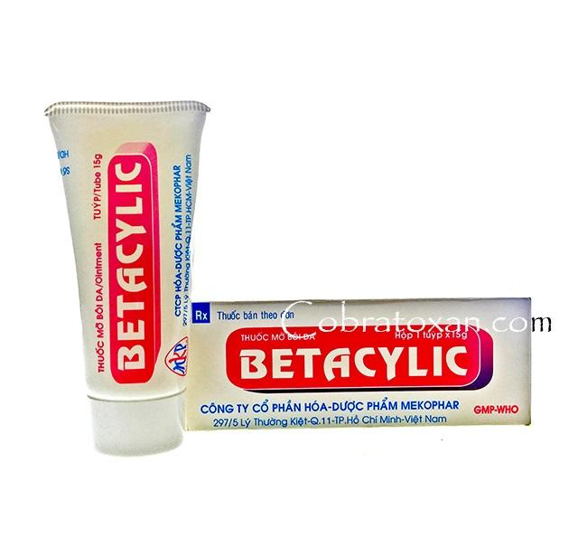 Мазь Бетасалик от дерматозов различной этиологии
