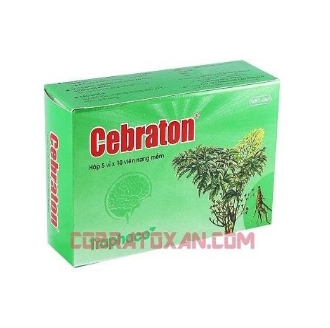 Капсулы Cebraton для стимуляции работы мозга