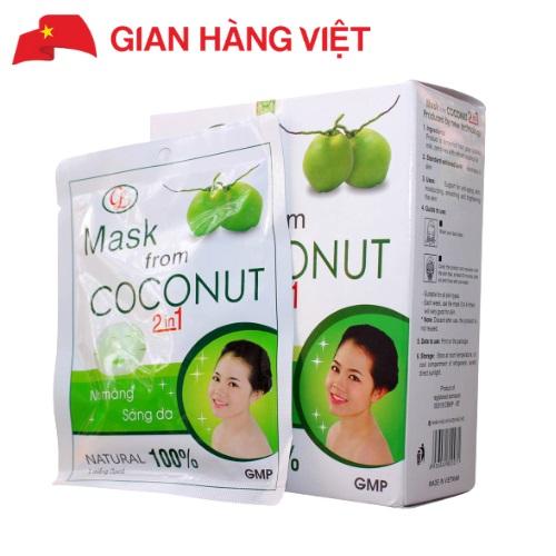 Маска для лица Mask From Coconut на основе кокоса