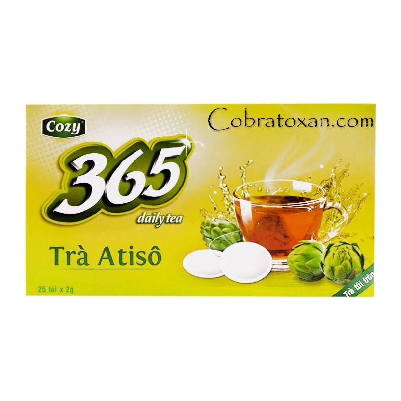 Atiso 365 Daily Tea Cozy чай с артишоком в пакетиках