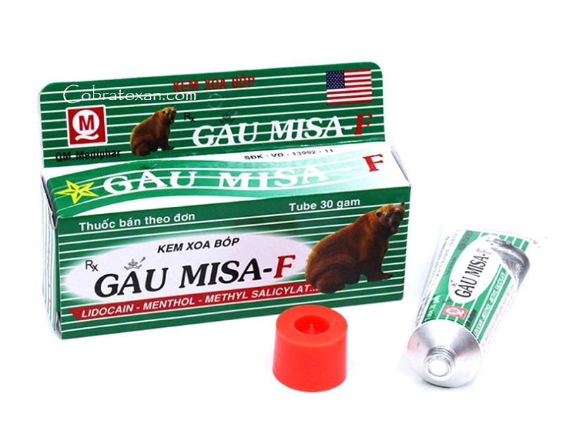 Мазь Gau Misa с желчью медведя