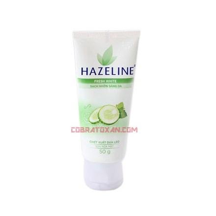 Огуречный гель для умывания Hazeline Fresh White
