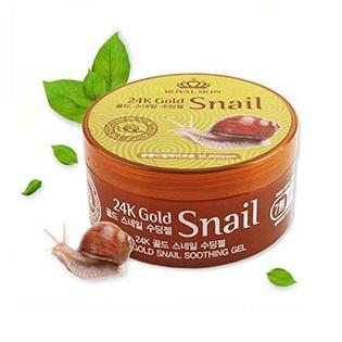 Royal Skin 24k Gold Snail Soothing Gel гель со слизью улитки