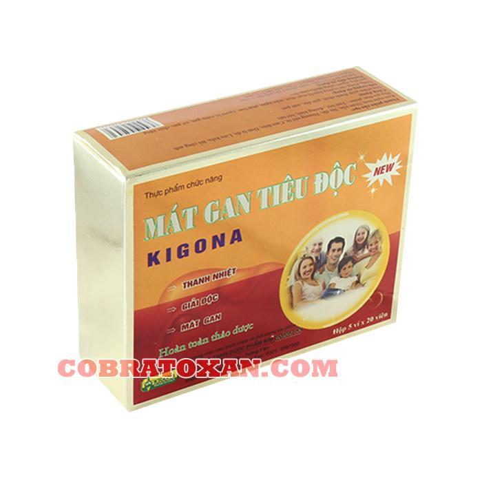 Препарат для печени Kigona Mat Gan Tieu Doc