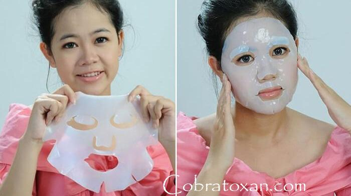 применение вьетнамской кокосовой маски