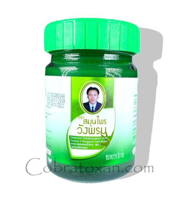 Тайский зелёный бальзам Salet Phangphon