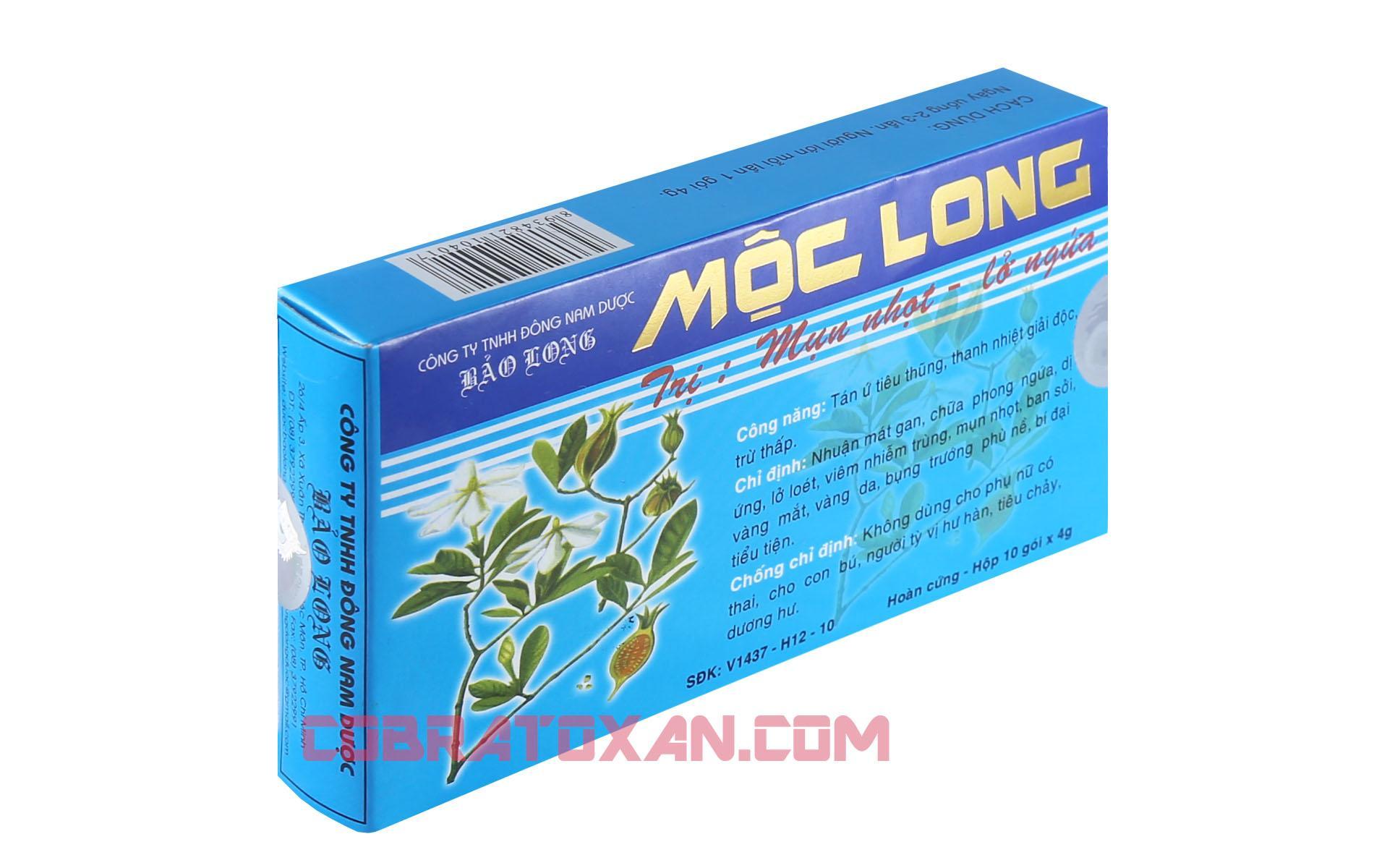 Препарат для очищения печени Мок Лонг