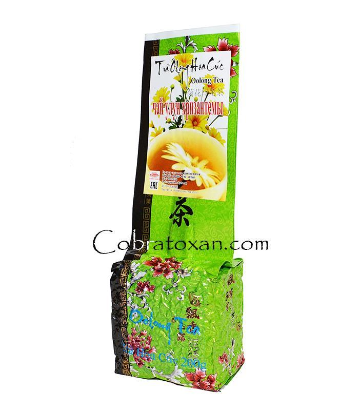Tra Olong Hoa Cuc чай с хризантемой