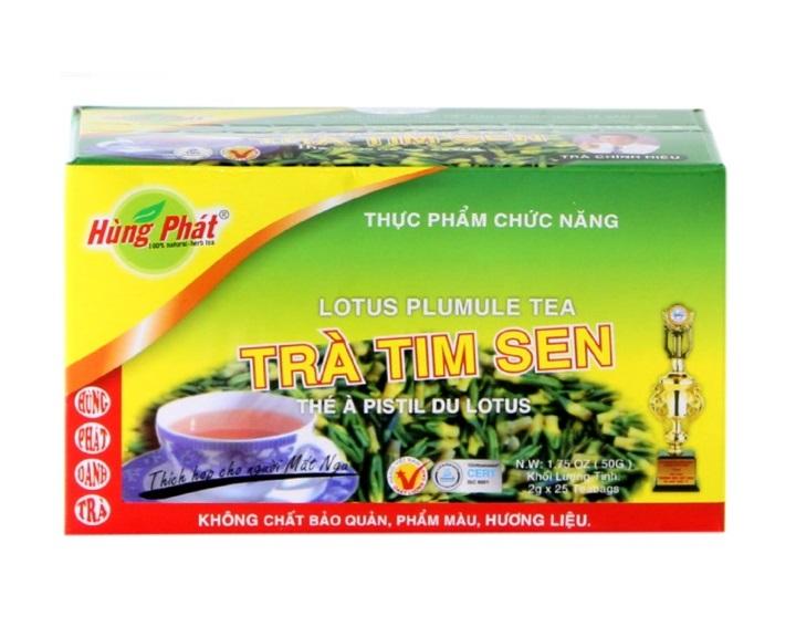 Вьетнамский чай из семян лотоса Tra Tim Sen