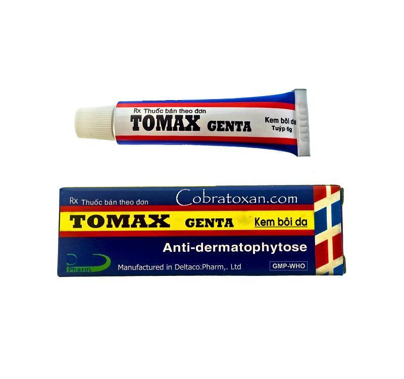 Мазь Tomax Genta от грибка ногтей