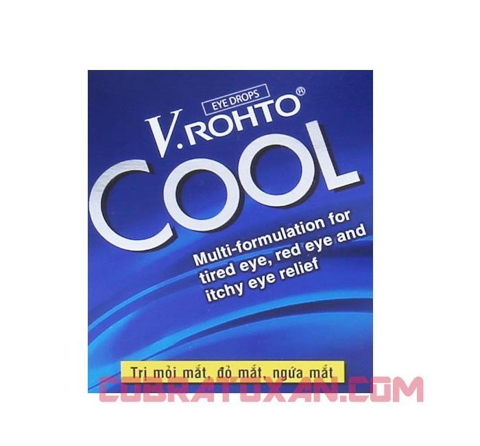 Глазные капли V.Rohto Cool