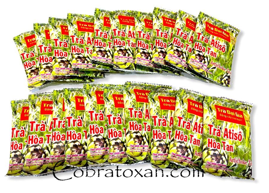 20 пакетиков с натуральным холодным чаем