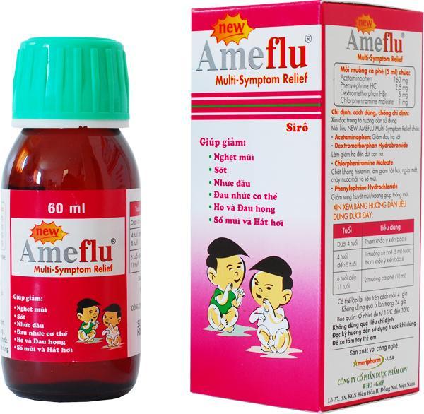 Сироп от гриппа и простуды для детей