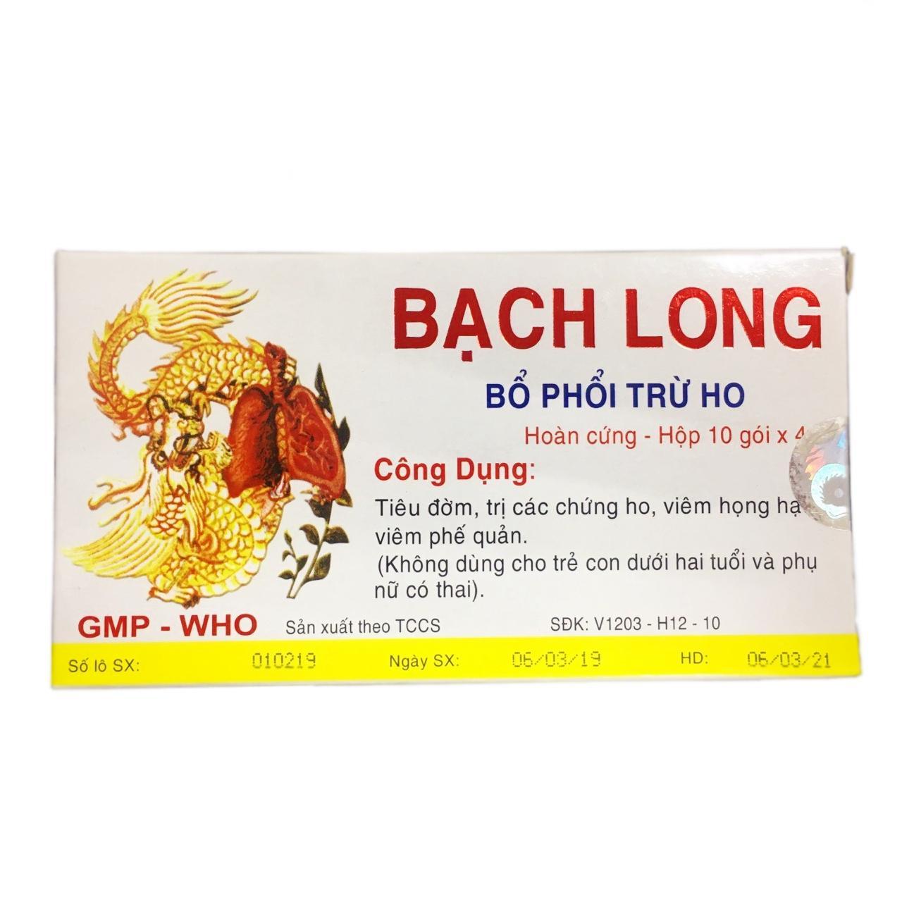 Драже для устранения кашля Bach Long