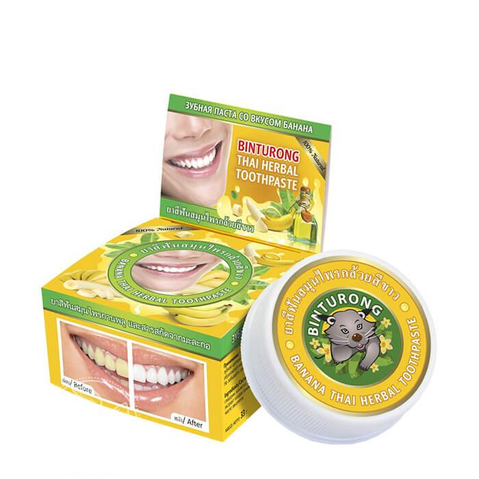 Зубная паста Binturong Banana Thai Herbal Toothpaste (33 мл)