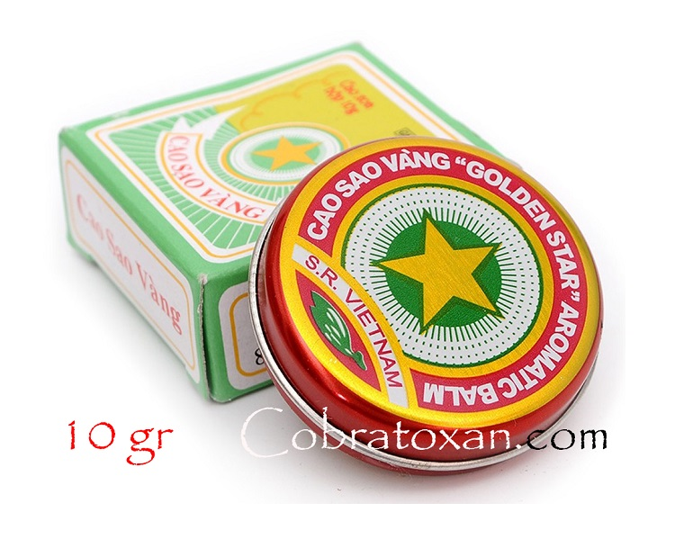 Бальзам Cao Sao Vang Tw3 (10 г)
