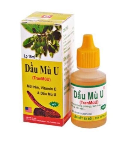 Dau Mu U масло для заживления ран (15 мл)