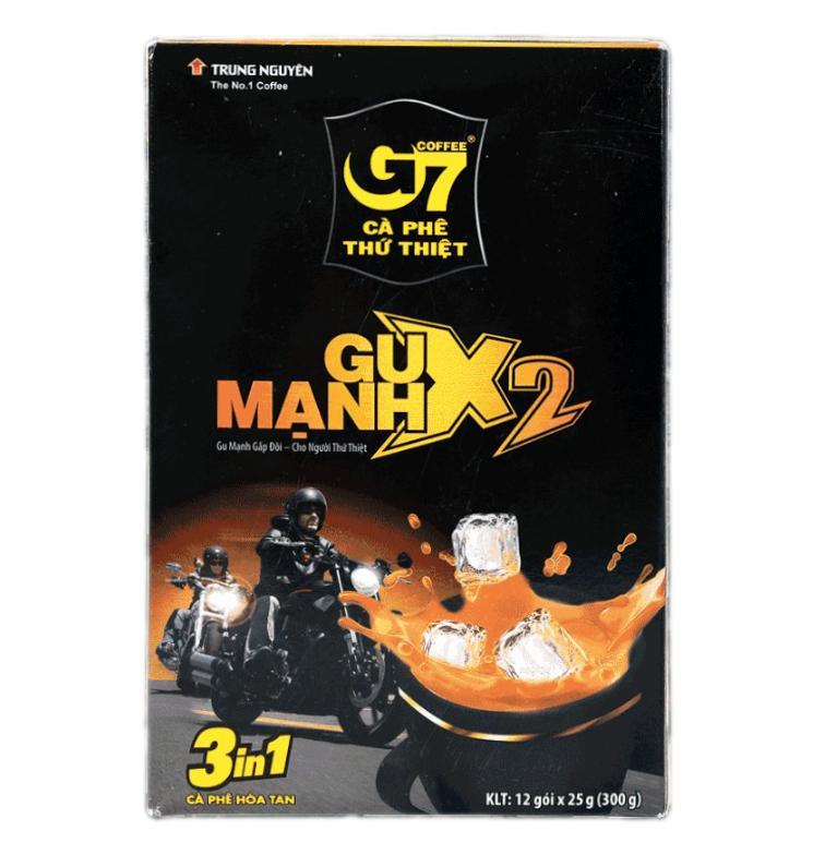 G7 Coffee 3 in 1 — Gu Manh X2 (12 шт х 25 г)