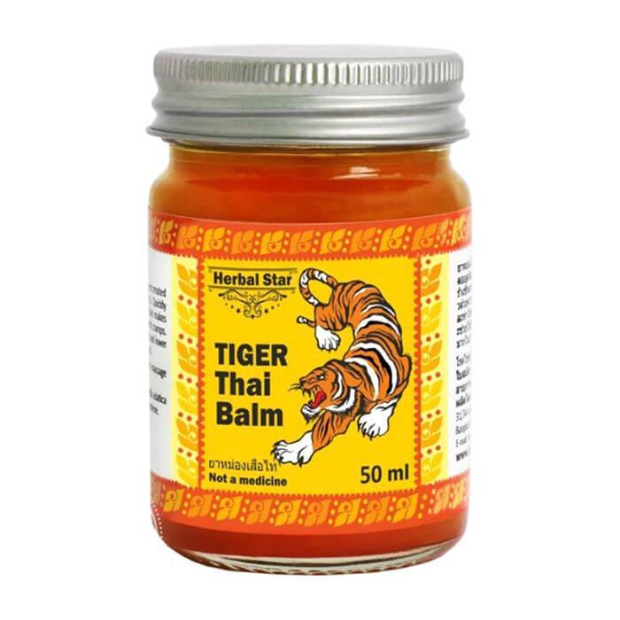 Тайский тигровый бальзам Herbal Star Tiger Thai Balm (50 мл)