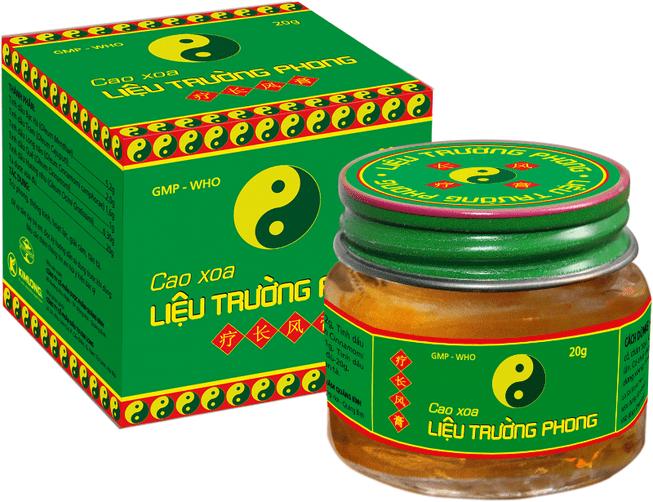 Lieu Truong Phong мазь с эфирными маслами