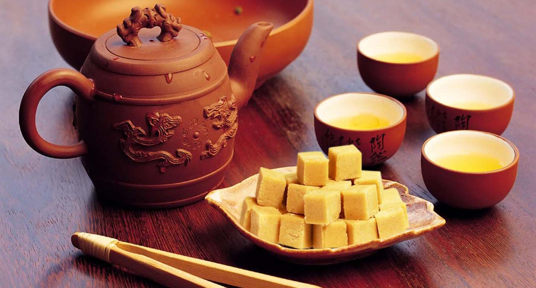 вьетнамский продукт к чаю из маша