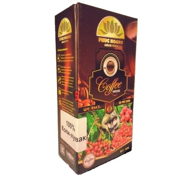 Элитный кофе Kopi Luwak (молотый 100 гр)
