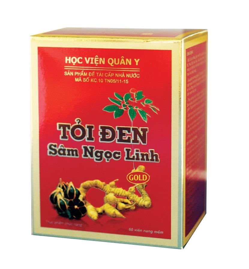 Препарат от холестерина Toi Den Ngoc Linh (60 капсул)