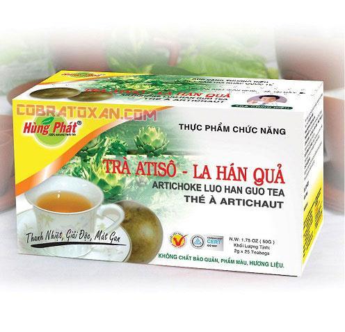 Чай с артишоком Luo Han Guo Tea