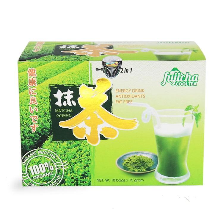 Пакетированный зеленый чай Матча «2 в 1» Matcha green, Chinh Son (10 пакетиков по 15 г)