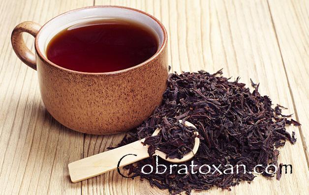Vietnam Black tea in a cup