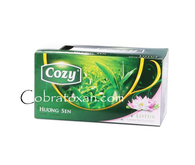 Чай Cozy с лотосом