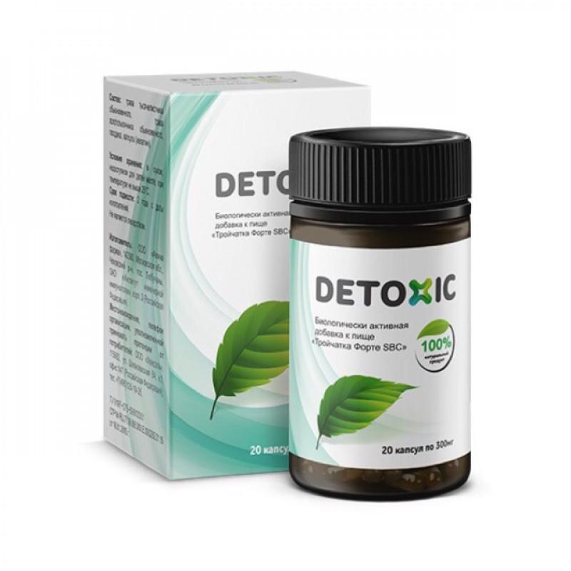 Detoxic препарат (20 капсул)