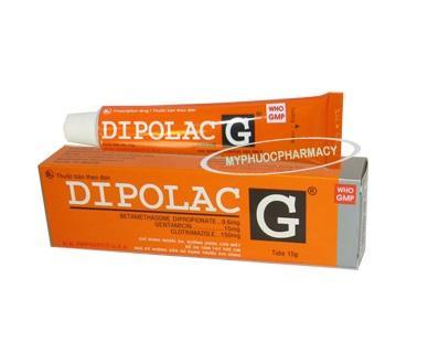 Мазь Dipolac G для терапии кожных заболеваний