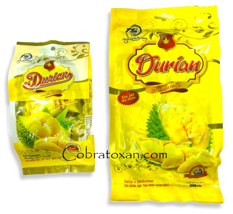 Жевательные конфеты со вкусом дуриана Durian, Truong Sinh