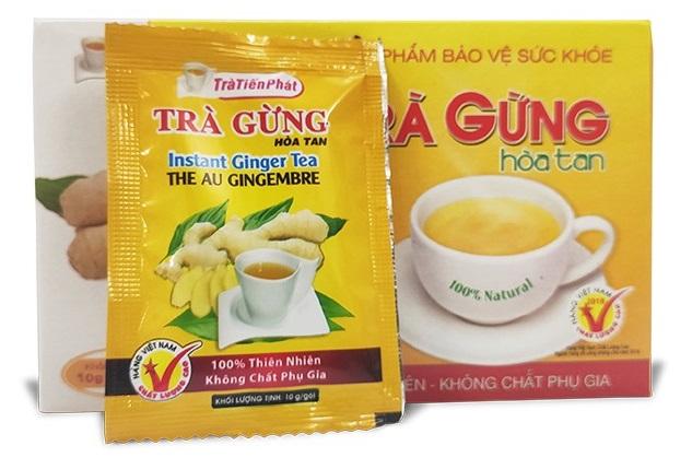 вьетнамский чай компании Tra Gung