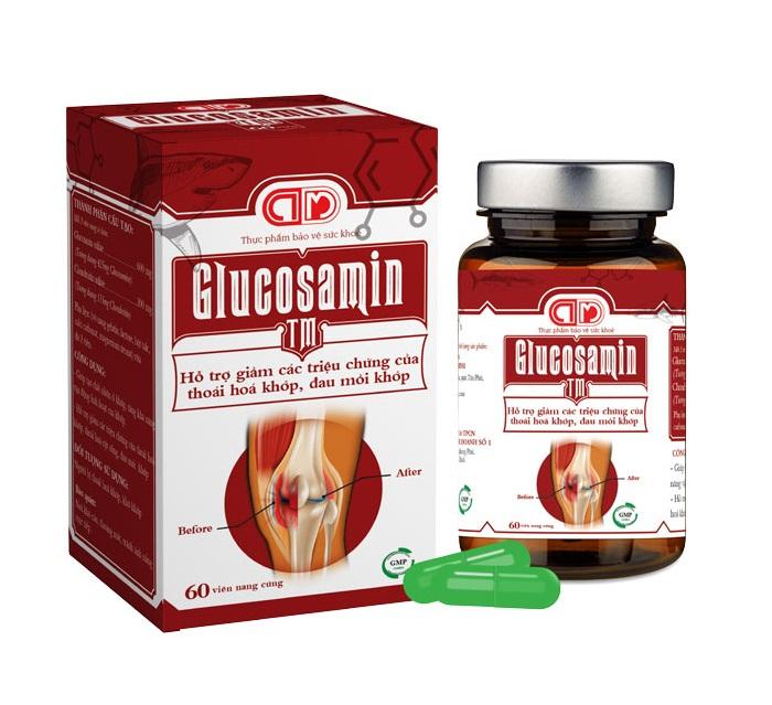 Глюкозамин 5 в капсулах для здоровья суставов, Trang Ly Pharma (100 шт.)