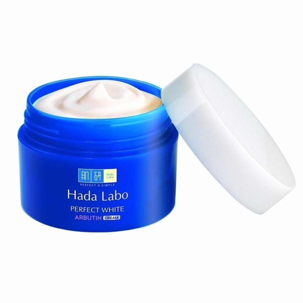 Отбеливающий крем Hada Labo Perfect White