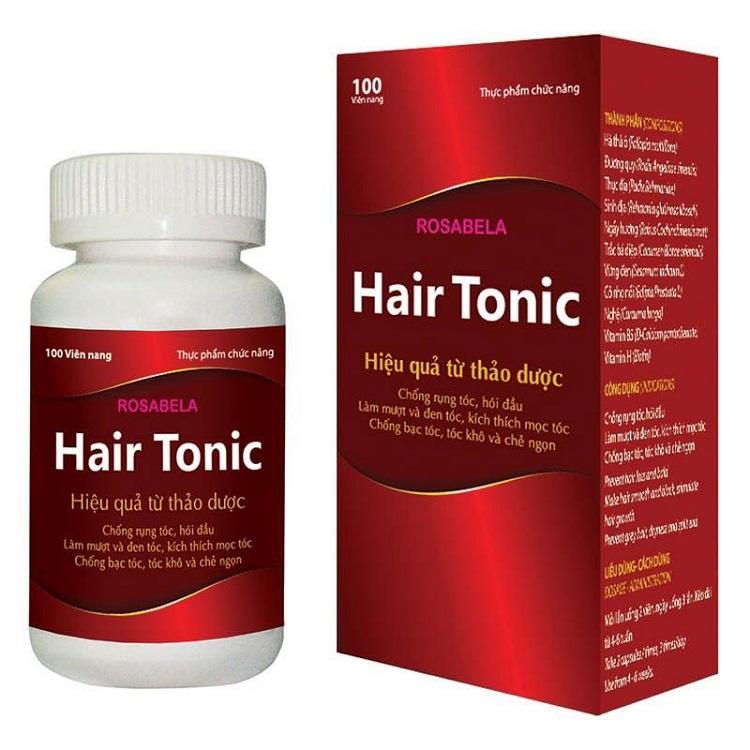 Комплекс Rosabela Hair Tonic для волос с растительными экстрактами и витаминами, 100 капс.