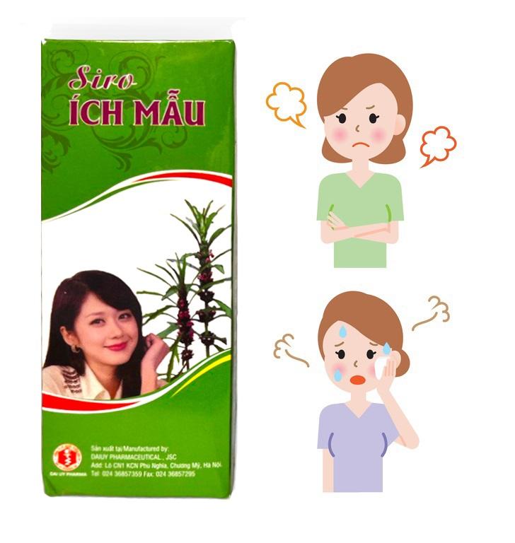 Натуральный сироп Cao Ich Mau при нарушении менструального цикла и менопаузе (200 мл)