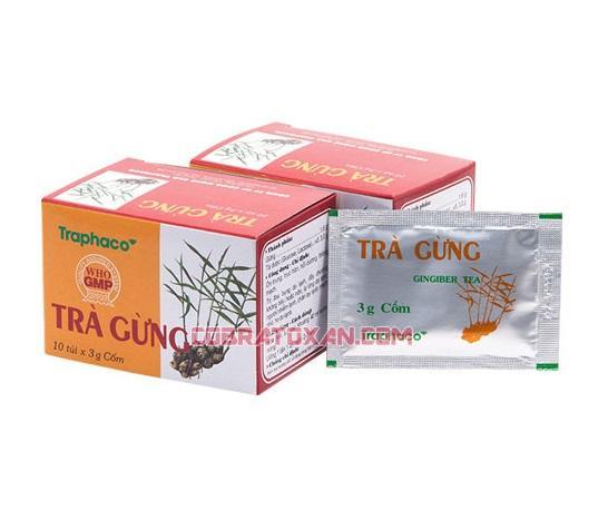 Имбирный чай Tra Gung с антиоксидантами и аминокислотами