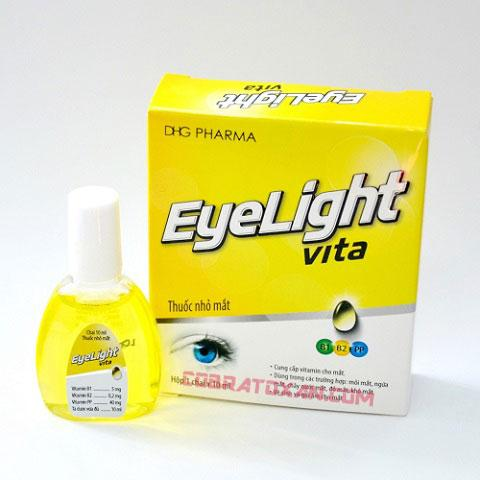 Капли для глаз Eyelight Vita Yellow