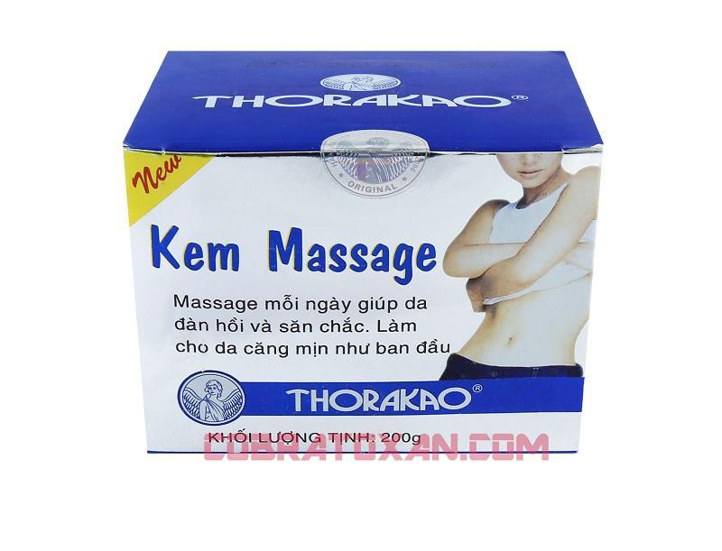 Массажный крем Kem Massage Тhorakao