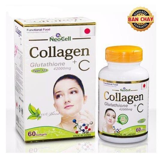 Коллаген Neocell Collagen + C для сохранения молодости кожи и женского здоровья, Япония (60 капс.)