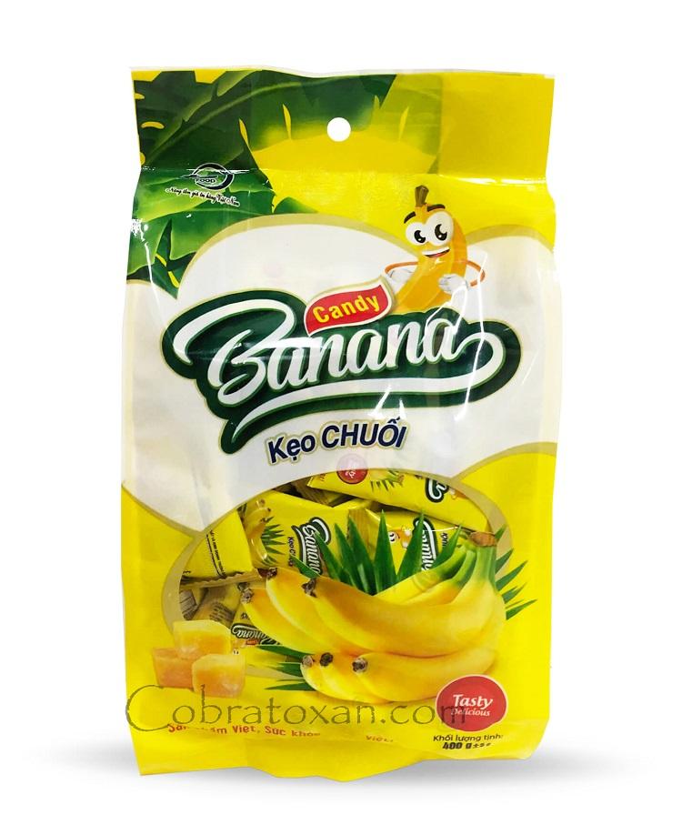Жевательные желейные конфеты Banana, Keo CHUOI (120 г)