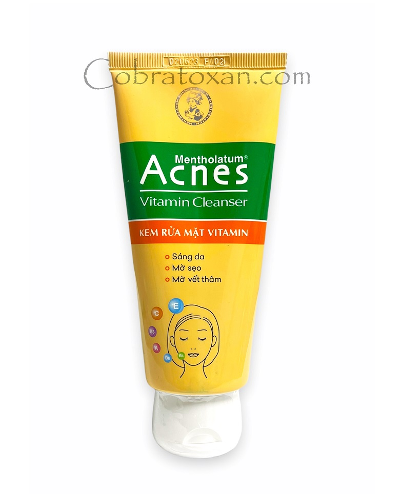 Крем Acnes Vitamin Cleanser для лица