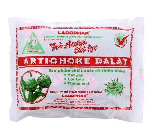 Артишоковый чай Artichoke Dalat в пакетиках (40 шт)